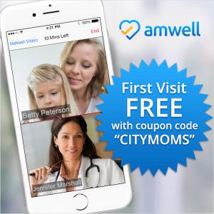 AmWell 1st Free Visit