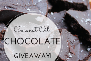 Coconut Oil Chocolates from Kate's Plate