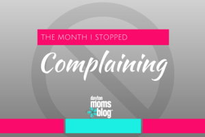 THE MONTH I STOPPED