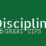 Disciplining 101 and 5 Tips for Moms
