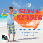 Be a Super Reader this Summer at Greene County Public Libraries