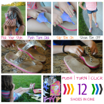 Swicharoos {GIVEAWAY} :: 12 Pairs of Sandals in 1!