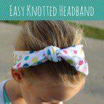 {Easy} DIY Knotted Headband