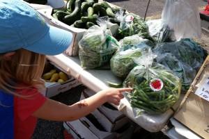 farmers market selection