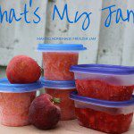 That's My Jam: Making Homemade Freezer Jam
