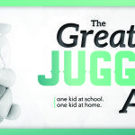 The Great Juggling Act – One Child at School and One at Home