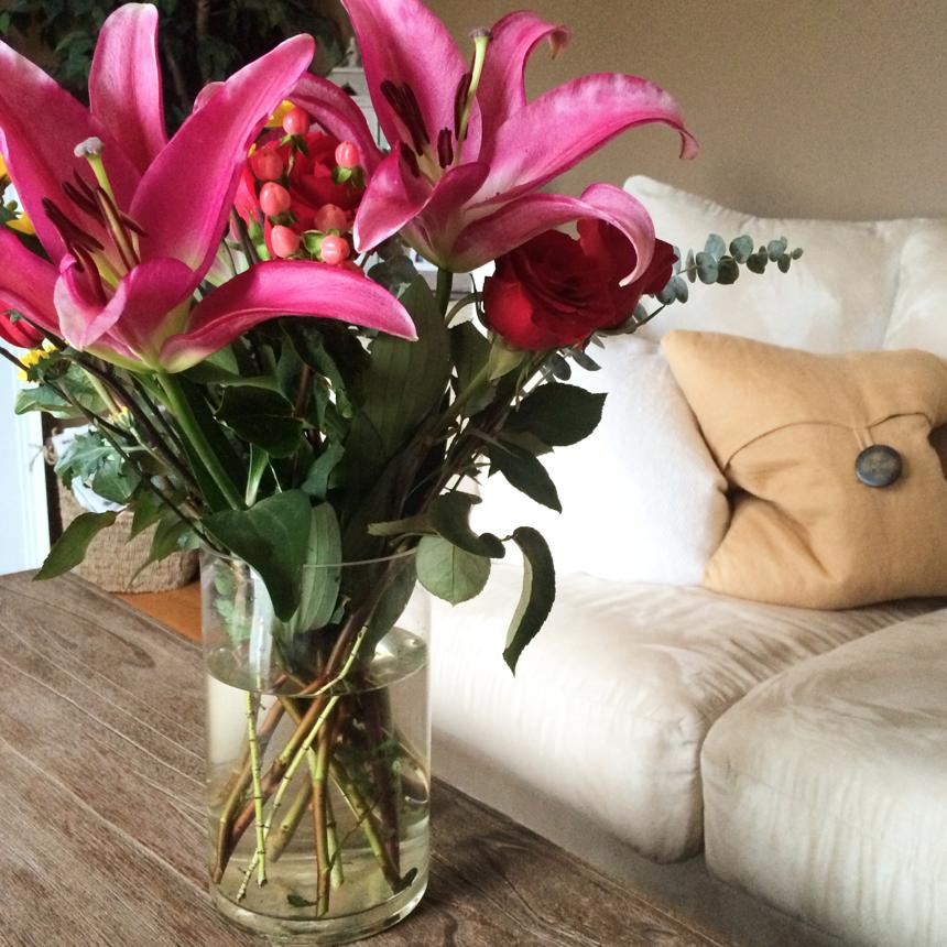 Pregnancy Overtime: Fresh Flowers