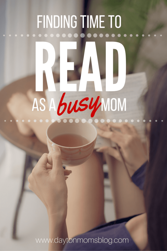 5 Tips for Making Time to Read as a Busy Mom