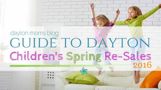 A Guide to Children's Spring Re-Sales in Dayton 2016