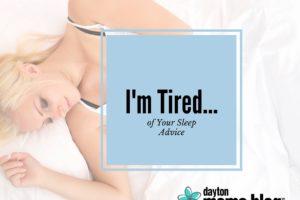 I'm Tired...
