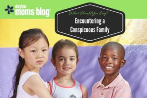 Encountering a Conspicuous Family
