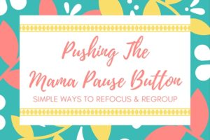 Pushing TheMama Pause Button