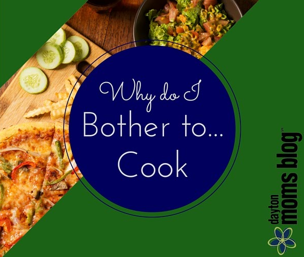 Why do I Bother & Cook Graphic