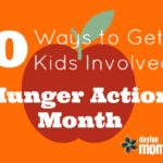 10 Ways to Get Kids Involved in Hunger Action Month