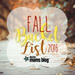 Fall Bucket List {with Printable}