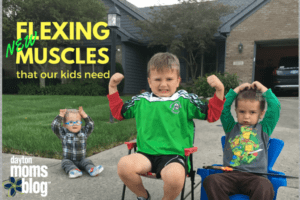 Flexing new muscles that our kids need: how to use their 'muscles to teach character lessons