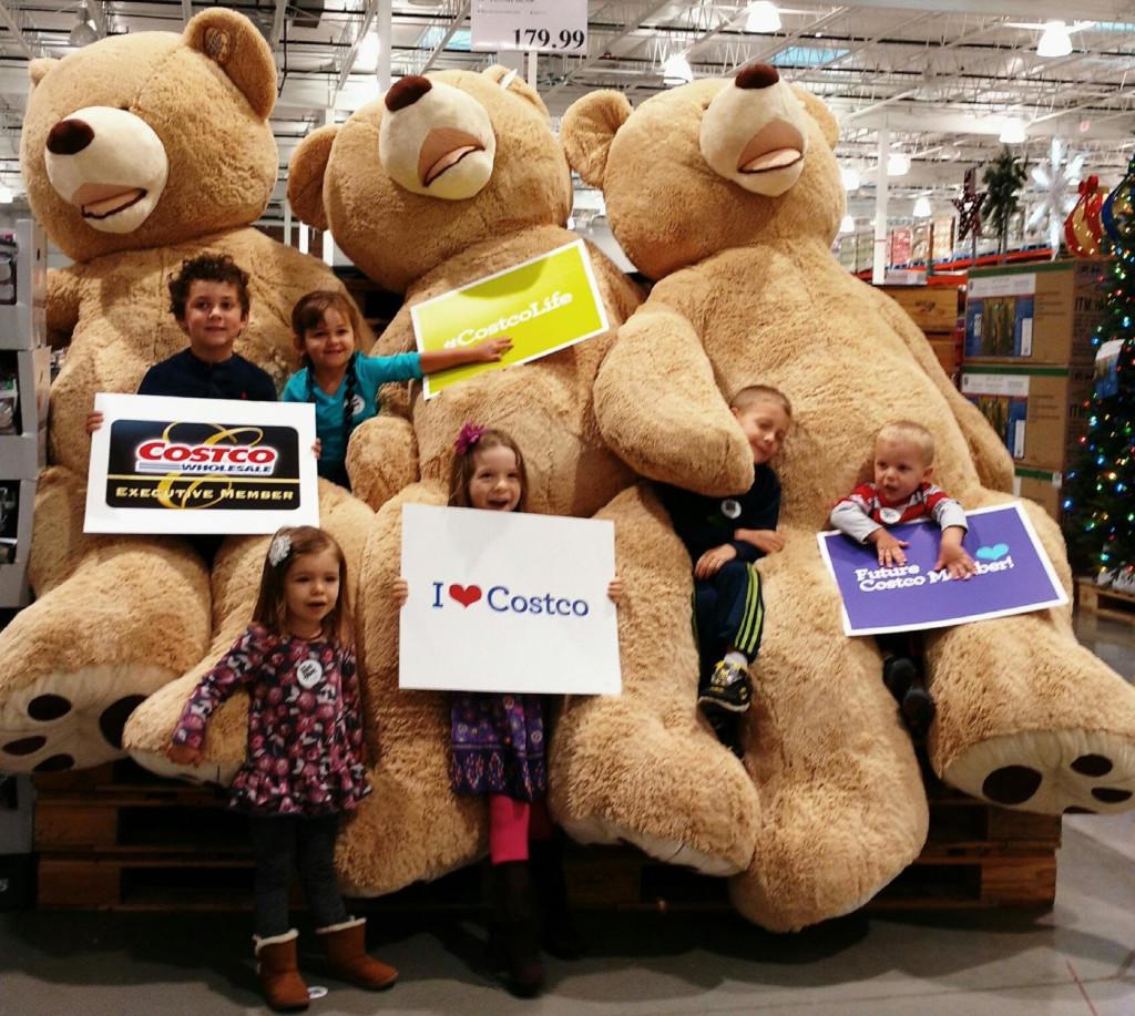 The kids of Dayton Moms Blog love Costco!