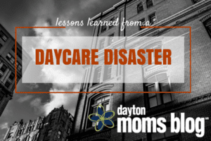 "Ominous image of building with the title, ""Lessons Learned from a Daycare Disaster"""