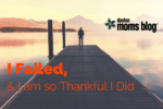 I Failed,