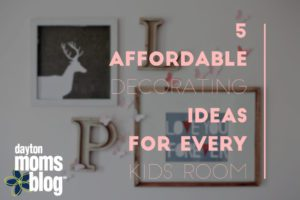 affordable decorating for kids room