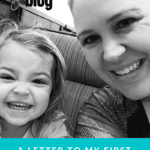 A Letter To My Firstborn: Before You Become A Big Sister