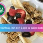 Breakfast Fun for Back-to-Schoolers