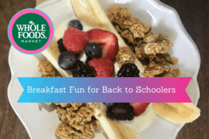 Breakfast Fun for Back to Schoolers