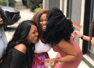 Group of women lauging