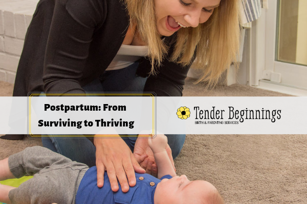 Tender Beginnings postpartum support