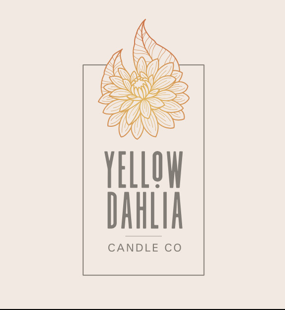 yellow dahlia candle co.